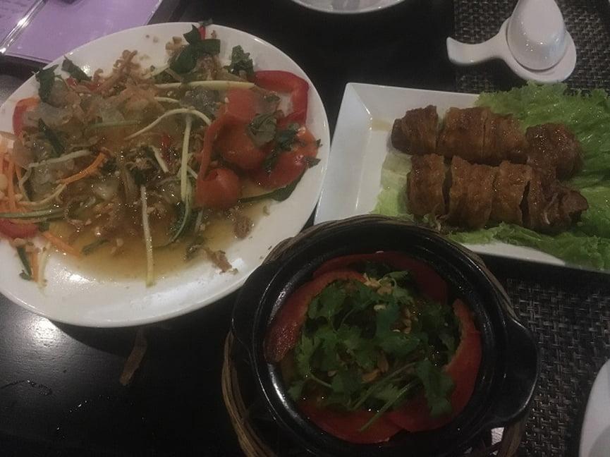 vegetarian food in Hue