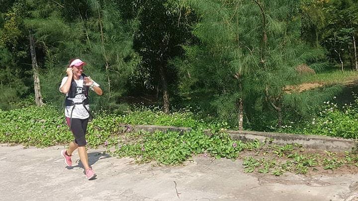 Charity run in Vietnam