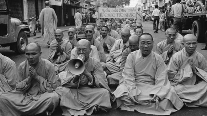 Buddhist crisis Thich Quang Duc