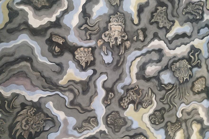 Ceiling mural Khai DInh