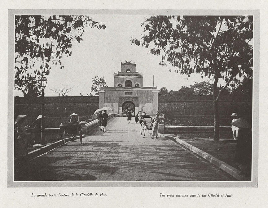Hue citadel 1919